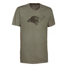 Tee-shirt de chasse Ligne Verney-Carron Tee for two Sanglier