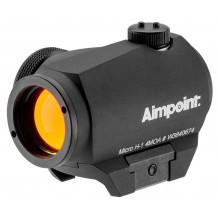 Viseur point rouge Aimpoint Micro H-1 / Réticule 4MOA