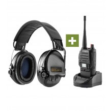 Pack chasse MSA Casque Supreme Pro X + Talkie-Walkie