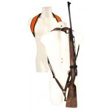 """Bretelle carabine Néoprène Niggeloh """"sac à dos"""" Titan"""