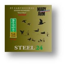 Cartouche Mary Arm Steel 24 / Cal. 20 - 24 g