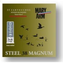 Cartouche Mary Arm Steel 38 Magnum / Cal. 12 - 38 g