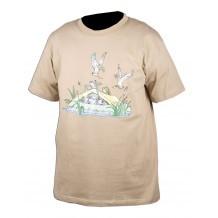 Tee-shirt sable humoristique Somlys 049S