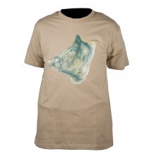 Tee-shirt sable Sanglier Somlys 033S
