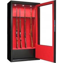Armoire forte Infac Vitrine V62 / 10 armes