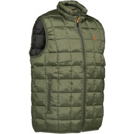 Gilet ouatiné Percussion Warm Kaki