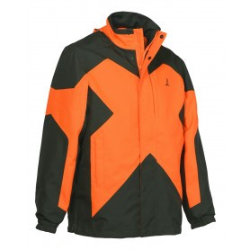 Veste de chasse Percussion Predator R2 Orange / Kaki
