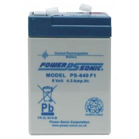Batterie 6 Volts rechargeable pour agrainoir automatique 6V