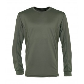 Sweatshirt thermique Percussion Megadry Kaki
