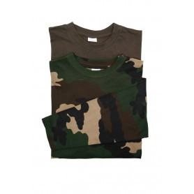 Pack 2 tee-shirts Percussion ML Kaki - Camo