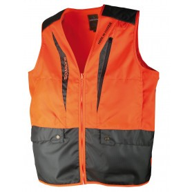 Gilet de chasse anti-ronce Somlys Orange 250N