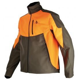 Blouson polaire Softshell Orange Somlys 401N