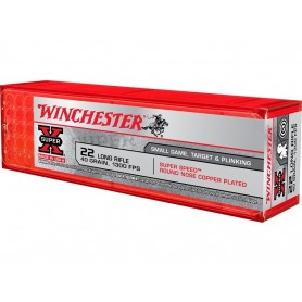 Cartouches 22LR Winchester Super Speed High Velocity RN