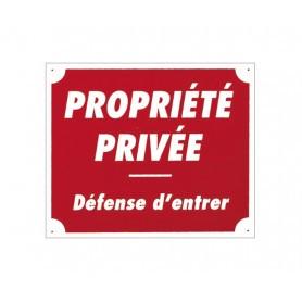 Pack 10 pancartes de chasse PROPRIÉTÉ PRIVÉE / 1