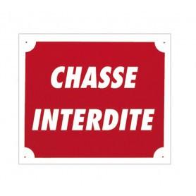 Pack 10 pancartes de chasse CHASSE INTERDITE