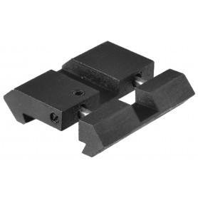 Rail adaptateur de 11 mm à 21 mm