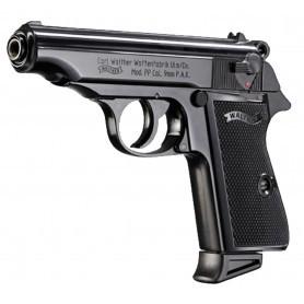Pistolet d'alarme Walter PP noir