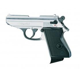 Pistolet d'alarme Chiappa Lady Nickelé
