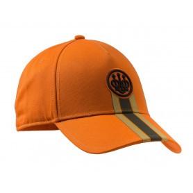 Casquette de chasse Beretta Corporate Striped - Orange