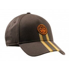 Casquette de chasse Beretta Corporate Striped - Chocolat