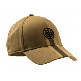 Casquette de chasse Beretta Corporate Striped - Kaki