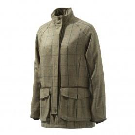 Veste de chasse Femme Beretta St James - Tweed Vert