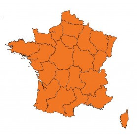 Cartographie SportDog Tek 2.0, pack Carte France