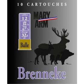 Cartouche Mary Arm Brenneke 12 / Cal. 12 - 32 g