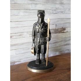 Figurine Hippo en bronze