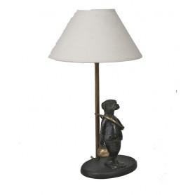 Lampe Chien avec trompe
