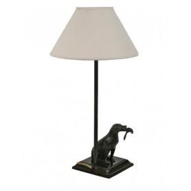 Lampe Labrador avec canard