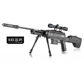 Carabine à plomb Black Ops Sniper Tactical - Cal 4,5 mm