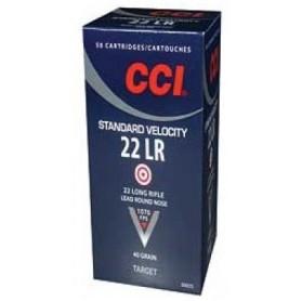 Cartouches 22 LR CCI Standard