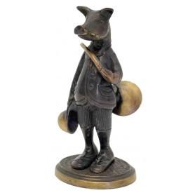 Figurine Sanglier en bronze