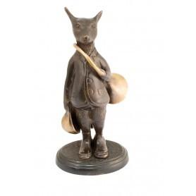 Figurine Renard en bronze