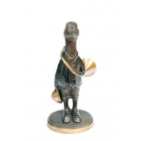 Figurine Canard en bronze