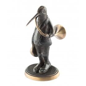Figurine Bécasse en bronze