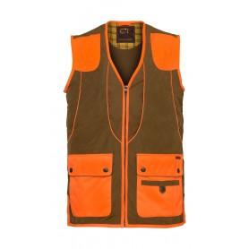 Gilet de chasse Club Interchasse Cevrus - Orange