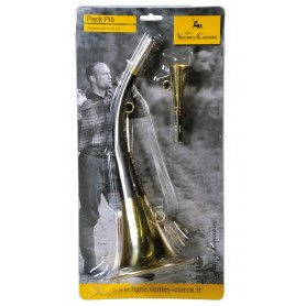 Pack 2 cornes de chasse Ligne Verney-Carron Pack Pib