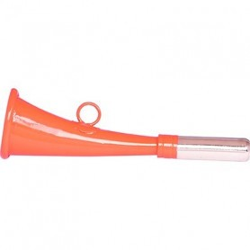 Corne de chasse plate 16 cm Stepland orange