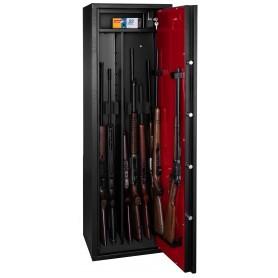Armoire forte Rietti modulable 9 armes / 6 armes + étagères
