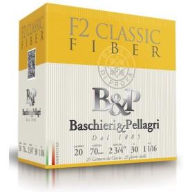 Cartouche B & P F2 Classic Fiber 30 / Cal. 20 - 30 g