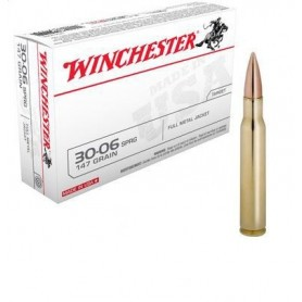 Cartouche Winchester / cal. 308 W - FMJ 147 gr