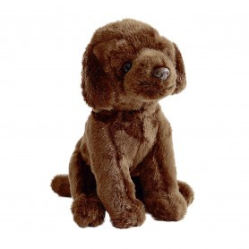 Peluche chiot Labrador 25 cm