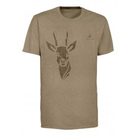 Tee-shirt de chasse Ligne Verney-Carron Tee for two Chevreuil
