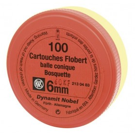 Cartouches 6 mm Flobert RWS Bosquettes