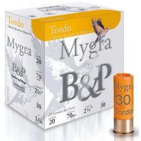 Cartouche B & P Mygra Tordo 20 / Cal. 20 - 30 g