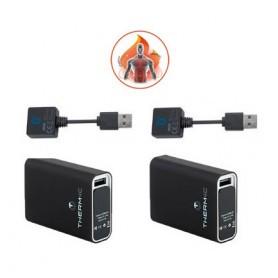 Pack 2 batteries Power Bank pour système chauffant Stagunt Acti Heat