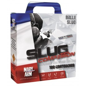 Pack 100 cart. Mary Arm Slug Compétition / Cal. 12 - 28 g