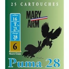 Cartouche Mary Arm Puma 28 / Cal. 16 - 28 g